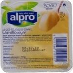 Десерт соевый Alpro ванильный 125г