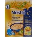 Каша безмолочная Nestle 5 злаков с липовым цветом 200г