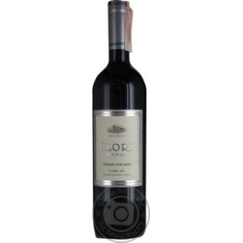Вино Meomari ILORI червоне сухе 12,5% 0,75л