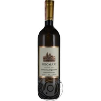Вино Meomari Алазанская долина белое полусладкое 13% 0,75л