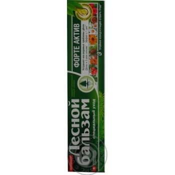 Лесной Бальзам Зубная паста Форте 75мл