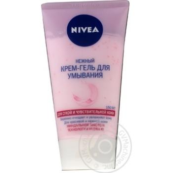 Крем-гель Nivea Нежный для умывания для сухой и чувствительной кожи 150мл - купить, цены на Novus - фото 3