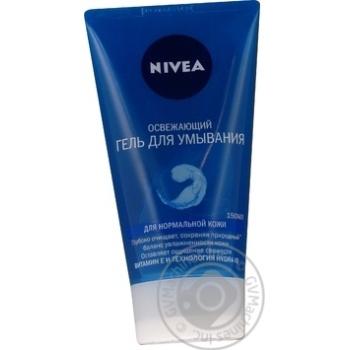 Гель Nivea для умывания освежающий для нормальной кожи 150мл