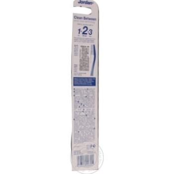 Щетка зубная Jordan Clean Between Medium средней жесткости 1шт - купить, цены на Ашан - фото 2