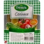 Greenvil salt cornichon cucumber 500g