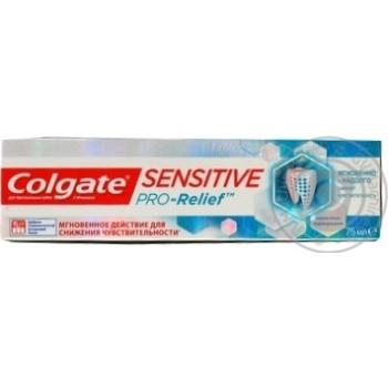 Зубная паста Colgate Sensitive Pro-Relief для чувствительных зубов 75мл - купить, цены на Фуршет - фото 5