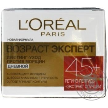 Крем дневной для лица L'oreal Paris Dermo Expertise 45+ 50мл