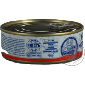 Нототения Аквамарин с овощами в томатном соусе 230г - купить, цены на Novus - фото 7