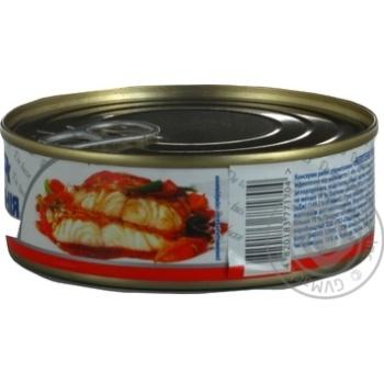 Нототения Аквамарин с овощами в томатном соусе 230г - купить, цены на Novus - фото 6