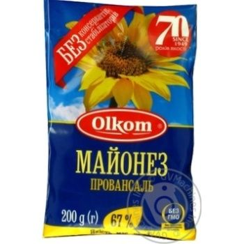 Майонез Олком Провансаль 67% 200г