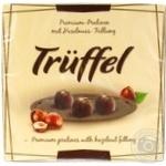 Цукерки Luzyckie Praliny Truffel шоколадні з начинкою з нуги 150г