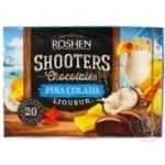 Candy Roshen Shooters pena kolada 150g in a box