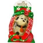 Фігурка шоколадна Heidi Ягня пасхальне з білого шоколаду 75г