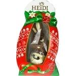 Фігурка шоколадна Heidi Зайчик малюк пасхальний з молочного шоколаду 100г