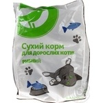 Auchan Dry Сats Food With Fish 400g