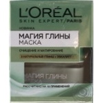 Mask L'oreal with eucalyptus for face 50ml