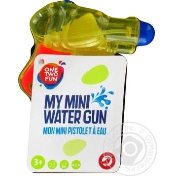 Пистолет One Two Fun водный 11см - купить, цены на Ашан - фото 5