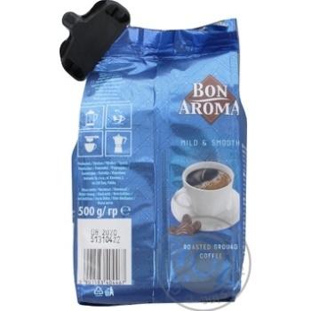 Кофе Bon Aroma натуральный молотый 500г - купить, цены на Фуршет - фото 2