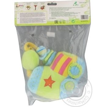 Devik Rattle Musical Train Toy 21cm - buy, prices for Furshet - image 2