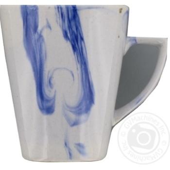 Чашка Marizel радуга кобальт CAP676 350мл - купить, цены на Фуршет - фото 2