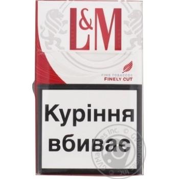 Сигареты L&M Red Label 20шт - купить, цены на Фуршет - фото 3
