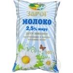 Молоко Зарог 2,5% 900г