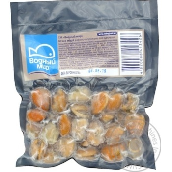 Vodnyy Mir Mussel Meat Boiled and Frozen 180g - buy, prices for Furshet - image 3