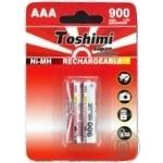 Toshimi Battery AAA NiMn 900mAh 2pc - buy, prices for Furshet - image 1