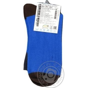 Детские носки р.22-24 голубой 953 - купить, цены на Фуршет - фото 2