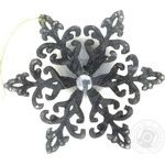 Прикраса Сніжинка Лазорик кристал 1 - купити, ціни на Фуршет - фото 1