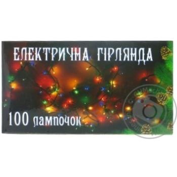 Гірлянда електрична 100ламп ARX04515B - купить, цены на Фуршет - фото 1