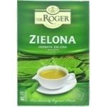 Чай Sir Roger зеленый листовой 100г