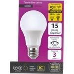 Лампа светодиодная Ledmax Bulb 5W E27 3000K