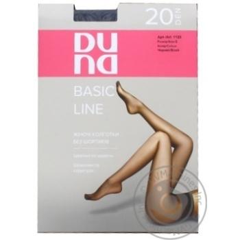 Колготки Duna жіночі чорні 20ден 3р - купити, ціни на Фуршет - фото 1