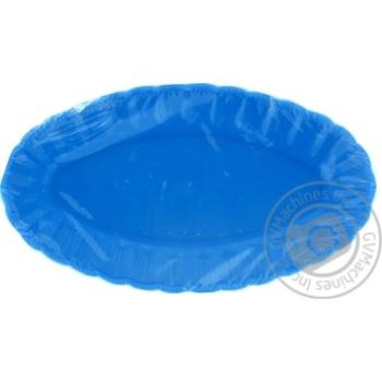 Набор тарелок Меломан для сельди 4шт 12см - купить, цены на Фуршет - фото 1