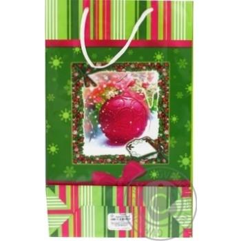 Пакет подарочный Королевство подарков Большой - купить, цены на Фуршет - фото 2