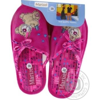 Взуття жіноче Marizel кімнатне Huk 770 - купити, ціни на Фуршет - фото 1