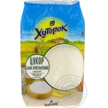 Khutorok White Crystalline Sugar 800g - buy, prices for Novus - image 2
