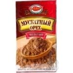 Специи мускатный орех Любисток молотый 15г Украина