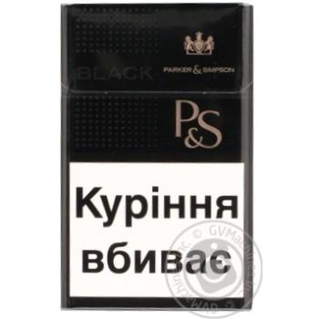 Сигареты Parker&Simpson Black - купить, цены на Фуршет - фото 3