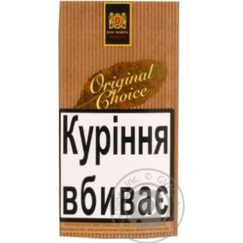 Тютюн Mc.Baren Original Choice 40г - купити, ціни на Novus - фото 1