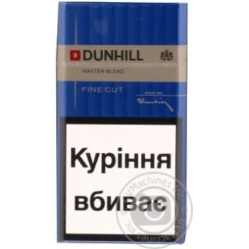 Цигарки Dunhill Fine Cut Master Blend - купити, ціни на Novus - фото 2
