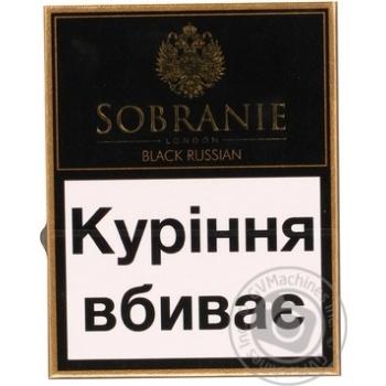 Цигарки Собраніє Блек рашен 20шт 25г