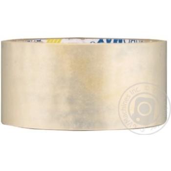 Лента клейкая Buromax прозрачная 48ммx66мx45мкм - купить, цены на Novus - фото 1