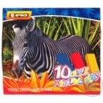 Пластилин Economix Afrika 10 цветов 200г - купить, цены на Novus - фото 1