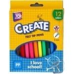 Фломастеры Cool For School Create 12 цветов