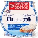 Крем-сыр Paysan Breton Мадам Лойк натуральный с морской солью Геранд 65% 150г