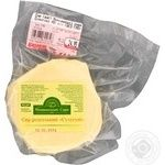 Cheese suluguni Monashynski syry pickled 45% vacuum packing Ukraine