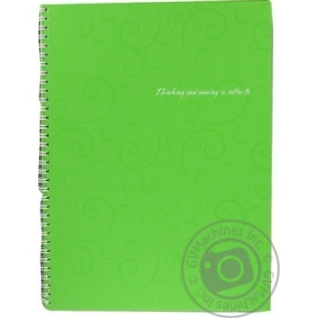 Buromax Barocco Notebook With Spring A4 80 Sheets - buy, prices for Novus - image 6