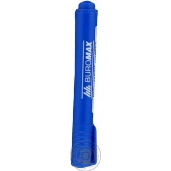 Маркер водостойкий Buromax Jobmax синий - купить, цены на Таврия В - фото 2